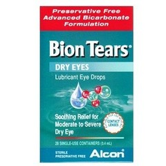 Bion Tears Dry Eyes 28 x 0.4ml single-use containers