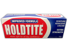 Holdtite Denture Adhesive Cream Extra Strength 58g