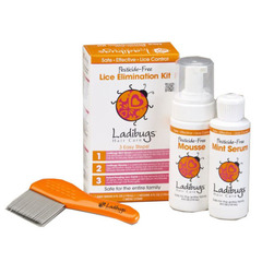 Ladibugs Hair Care Elimination Kit