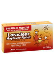 Loraclear Hayfever Relief 90 tablets limit applies