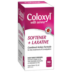 Coloxyl With Senna 90 tablets