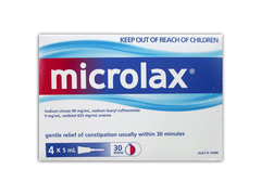 Microlax 4 pack
