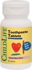 Childlife Toothpaste Tablets 60 tablets