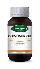 THOMPSONS COD LIVER OIL 100 CAPS