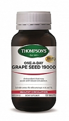 THOMPSONS ONE-A-DAY GRAPE SEED 19000mg 120 TABS