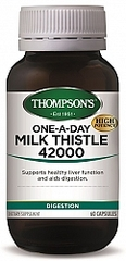 THOMPSONS ONE-A-DAY MILK THISTLE 35000mg 60 CAPS