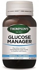 THOMPSONS GLUCOSE MANAGER 60 TABS