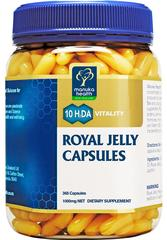 Manuka Health Royal Jelly Capsules 365 Caps