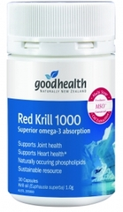 Goodhealth Red Super Krill 1000mg 60 capsules