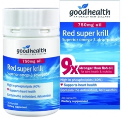 Goodhealth Red Super Krill 750mg 30 capsules