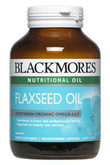 Blackmores Flaxseed Oil 1000mg Caps 100