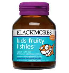 Blackmores Kids Fruity Fishies Caps 30
