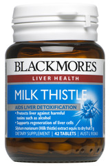 Blackmores Milk Thistle Tabs 42
