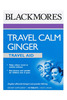Blackmores Travel Calm Ginger Tabs 45