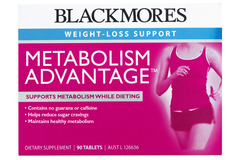Blackmores Metabolism Advantage Tabs 90