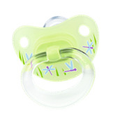 Nuk Silicone Soother - asstd.prints - size 1 - Single