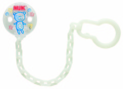 Nuk Soother Chain - assorted prints