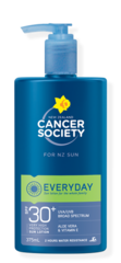 NZ Cancer Society SPF30+ Pump Bottle 375ml