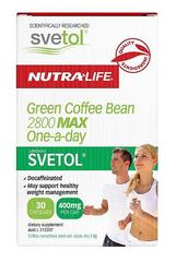 NutraLife Green Coffee Bean 2800 MAX One-a-day 30 capsules