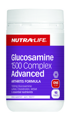 NutraLife Glucosamine 1500 Complex ADVANCED Tabs 90s
