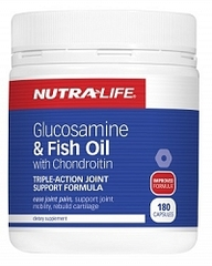 NutraLife Glucosamine & Fish Oil Caps 180s