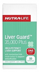 NutraLife Liver Guard 35000 Plus Caps 50s