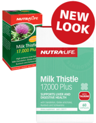 NutraLife Milk Thistle 17000 Caps 60s