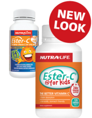 NutraLife Ester C For Kids Chews Tabs 120s