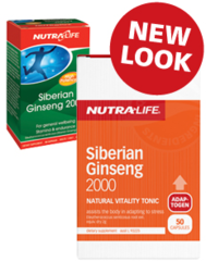 NutraLife Siberian Ginseng 2000 Caps 50s