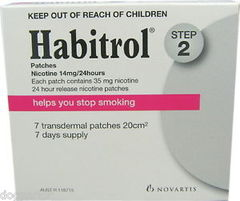 Habitrol 14mg/hr nicotine 7 patches