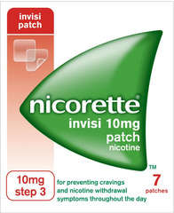 NICORETTE Invisible Patch 10mg 7 patches