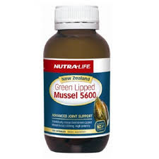 NutraLife NZ Green Lipped Mussel 5600 100 capsules