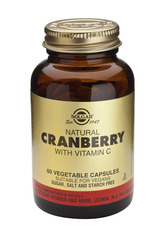 Solgar Cranberry Extract w Vitamin C 60's V