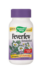 Nature's Way Feverfew Standardised 60 Capsules
